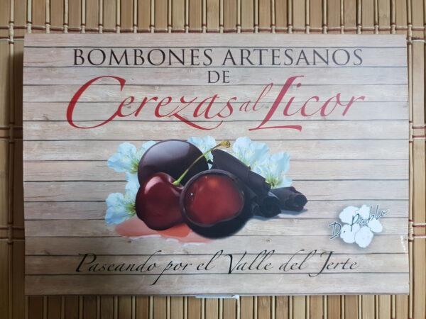 BOMBONES – D. PABLO - Cerezas al licor 120gr