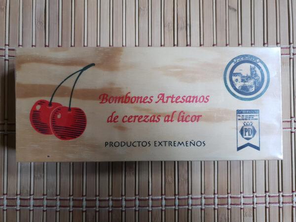 BOMBONES – D. PABLO - Cerezas al licor 160gr