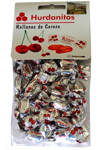 Caramelo cereza hurdanitos