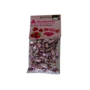Caramelo frambuesa hurdanitos
