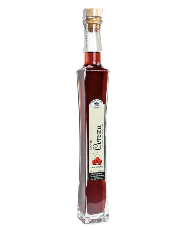Licor de cereza sabores del guijo
