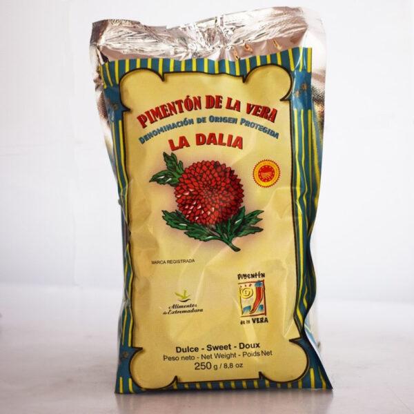 Pimenton de la vera la dalia dulce bolsa 250gr