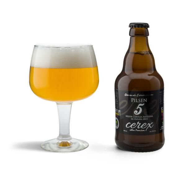 Cerveza cerex pilsen rubia 2