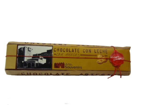chocolate con leche con nueces