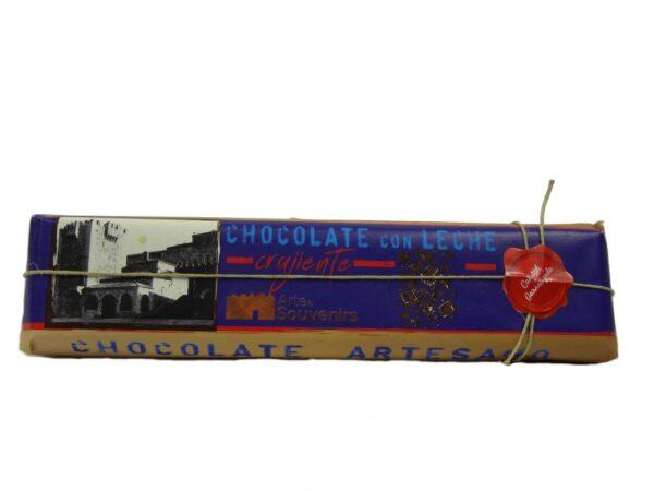 chocolate con leche crujiente
