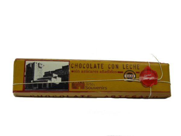 chocolate con leche sin azucares anadidos