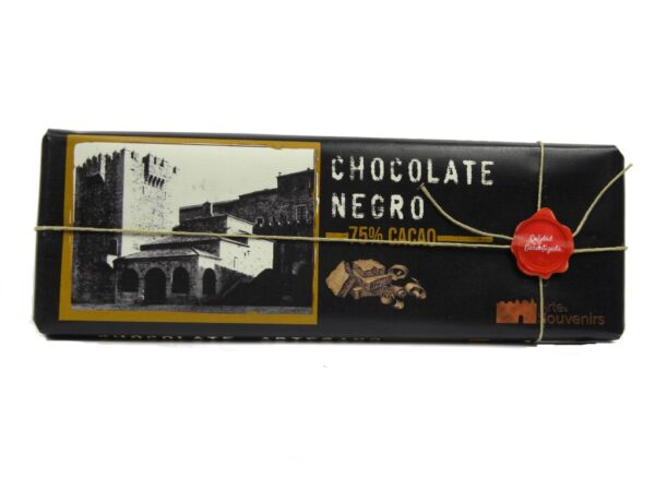 chocolate negro 75 cacao artesano