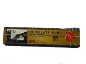 chocolate puro 100 cacao