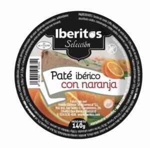 pate iberico con naranja iberitos