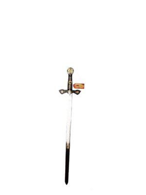 Espada Templaria Plateada