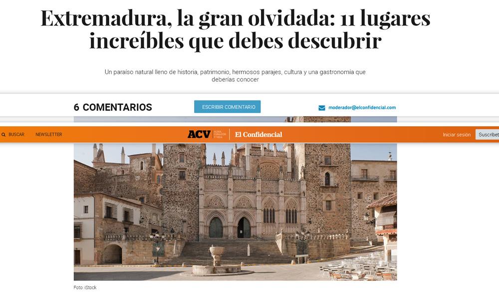 Extremadura, la gran olvidada: 11 lugares increíbles que debes descubrir